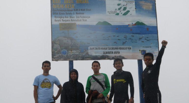 Eksplorasi Selat Tiworo, FDC Unhas Lakukan Ekspedisi Delphinus
